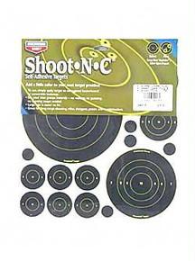 "Birchwood Casey Shoot-n-c 1,2,3,5.5,8"" 5pk"