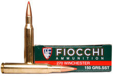 Fiocchi Extrema 270 Win 150gr SST Ammo - 20 Rounds