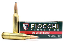 Fiocchi Shooting Dynamics 243 Win 70gr PSP Ammo - 20 Rounds