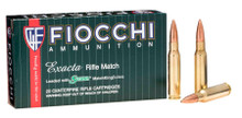 Fiocchi Exacta Match .308 Win 175gr Matchking Ammo - 20 Rounds