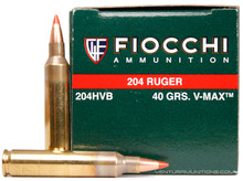 Fiocchi Extrema 204 Ruger 40gr V-MAX Ammo - 50 Rounds