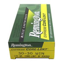 Remington Express Core-Lokt .30-30 Win 170gr SP - 20 Rounds