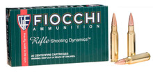 Fiocchi Shooting Dynamics .308 Win 150gr FMJBT Ammo - 20 Rounds