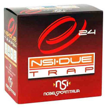 "NobelSport 12 Gauge 2 3/4"" 7/8oz 24g Due Trap Load - 25 Rounds"