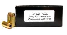 Ventura Tactical .45 ACP 230gr HST JHP Ammo - 50 Rounds