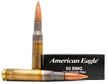 Federal 50 BMG 660gr FMJ Ammo - 10 Rounds