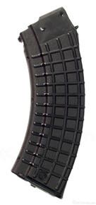 M-47W- Magazine, Circle 10 AK-47 'Waffle Pattern' 30rd. Bulgarian black polymer 7.62x39 NEW