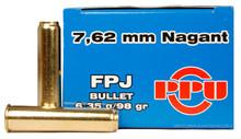 Prvi Partizan 7.62x38mm Nagant 98gr FPJ - 50 Rounds