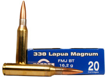 Prvi Partizan .338 Lapua 250gr FMJ-BT - 20 Rounds