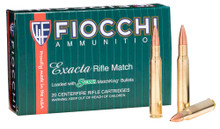 Fiocchi 30-06 Springfield 168gr Matchking HPBT - 20 Rounds