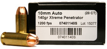 Lehigh Defense 10mm 140gr Xtreme Penetrator - 20 Rounds
