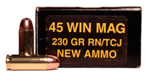 PCI 45 Win Mag 230gr TMJ Ammo- 50 Rounds