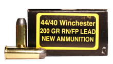 PCI 44-40 Winchester 200gr Lead RNFP Ammo - 50 Rounds