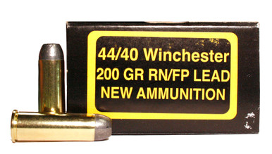 pci 44 40 winchester 200gr lead rnfp ammo 50 rounds