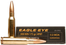 Eagle Eye Precision .308 Win 175gr HPBT Ammo - 20 Rounds