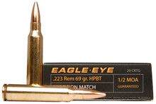 Eagle Eye Precision .223 Rem 69gr HPBT Ammo - 20 Rounds