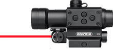 Redfield Counterstrike Red Dot Sight with Laser, Matte Black