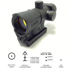 Lucid HD7 Red Dot Sight Gen3 Black w/ 4 Reticles