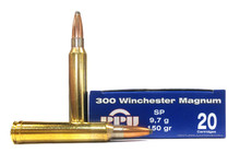 Prvi Partizan 300 Win Mag 150gr SP Ammo - 20 Rounds