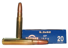 Prvi Partizan 9.3x62 Mauser 285gr SP Ammo - 20 Rounds
