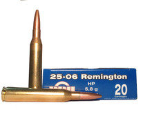 Prvi Partizan 25-06 90gr HP Ammo - 20 Rounds