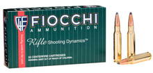 Fiocchi Shooting Dynamics .308 Win 150gr PSP Ammo - 20 Rounds