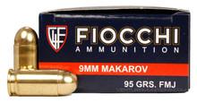 Fiocchi 9x18 Makarov 95gr FMJ - 50 Rounds
