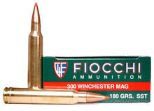 Fiocchi Extrema 300 Winchester Magnum 180gr SST Ammo- 20 Rounds
