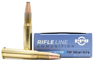 Prvi Partizan 30-30 Winchester 150gr Flat Nose Soft Point Ammo - 20 Rounds