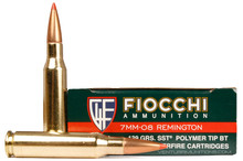Fiocchi Shooting Dynamics 7mm-08 139gr SST Ammo - 20 Rounds