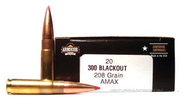 Armscor 300 AAC Blackout 208gr A-MAX Ammo - 20 Rounds