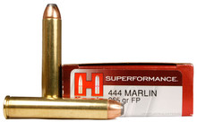 Hornady Superformance 444 Marlin 265gr Flat Soft Point Ammo - 20 Rounds