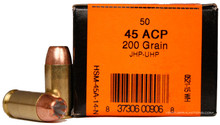 HSM 45 ACP 200gr UHP Ammo - 50 Rounds