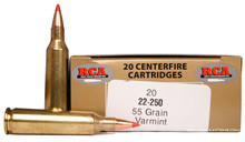 Colorado Buck 22-250 Remington 55gr Tipped Ammo - 20 Rounds