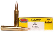 Colorado Buck .300 Winchester Magnum 165gr Nosler Accubond Ammo - 20 Rounds