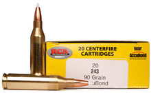 Colorado Buck .243 Winchester 90gr Nosler Accubond Ammo - 20 Rounds