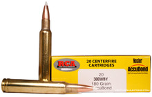 Colorado Buck 300 Weatherby 180gr Nosler Accubond Ammo - 20 Rounds
