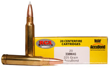 Colorado Buck .338 Winchest Magnum 225gr Nosler Accubond Ammo - 20 Rounds