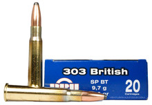 Prvi Partizan 303 British 150gr SP Ammo - 20 Rounds