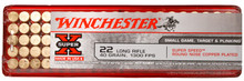 Winchester 22LR 40gr Copper Plated RN Ammo - 100 Rounds