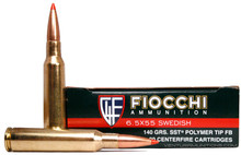 Fiocchi Extreme 6.5x55 Swedish 140gr SST Ammo - 20 Rounds