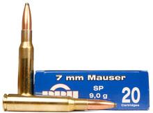 Prvi Partizan 7x57 Mauser 139gr SP Ammo - 20 Rounds