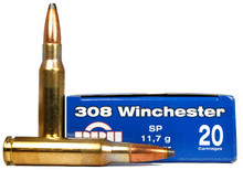 Prvi Partizan 308 Winchester 180gr SP Ammo - 20 Rounds