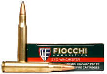 Fiocchi Shooting Dynamics 270 Winchester 130gr PSP Ammo - 20 Rounds