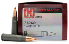 Hornady 7.62x39mm 123gr SST Steel Case Ammo - 50 Rounds