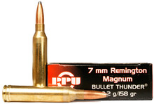 Prvi Partizan 7mm Remington Magnum 158gr Thunder (Grom SP) - 20 Rounds