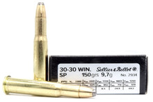Sellier & Bellot 30-30 Winchester 150gr SP Ammo - 20 Rounds