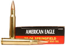 American Eagle 30-06 Springfield 150gr FMJ-BT Ammo - 20 Rounds