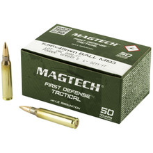 MagTech 5.56x45mm NATO 55gr FMJ Ammo - 50 Rounds