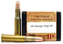 Ventura Heritage 303 Savage 150gr SP Ammo - 20 Rounds